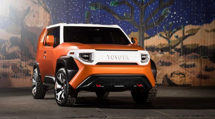 Концепт FT-4X ©Фото Toyota