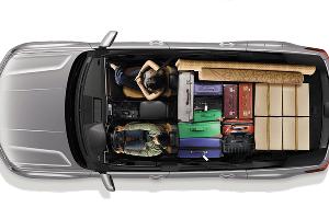 Компоновка VW Teramont ©Фото Volkswagen