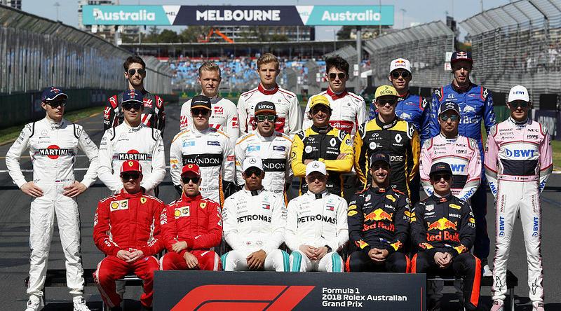 Действующие лица нового сезона F-1