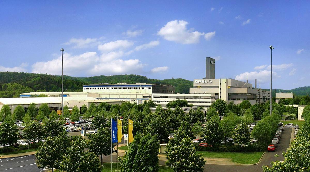 Завод Opel в Эйзенахе