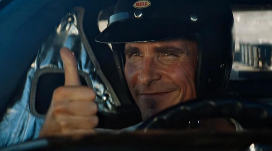 Кадр из фильма «Ford против Ferrari». Реж.: Дж. Мэнголд. 2019 год