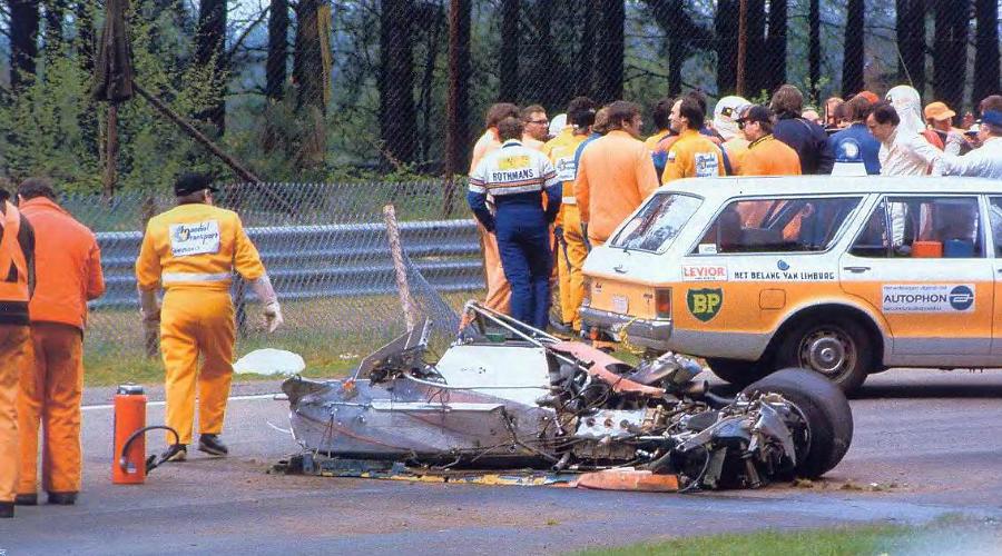 Авария Жиля Вильнева оказалась одной из самых страшных в Формуле-1