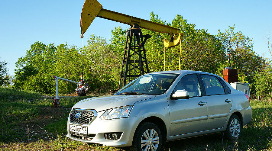 Datsun on-DO на Кубани ©Фото Евгения Мельченко, Юга.ру