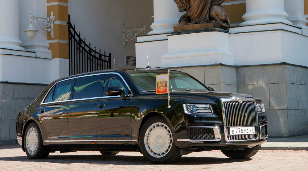 Новый российский автомобиль Aurus