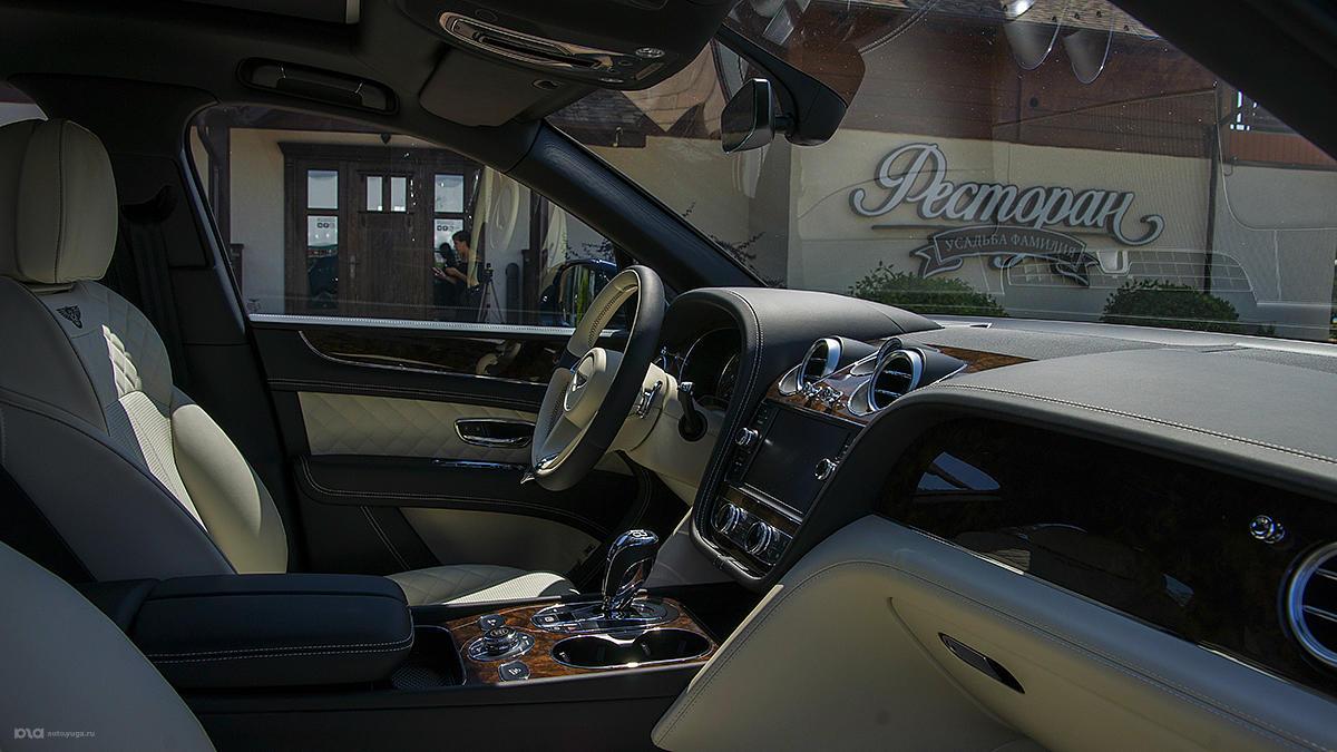 Кроссовер Bentley Bentayga