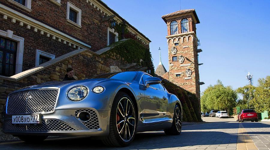 Bentley Continental GT. Новинка от британского бренда ©Фото Евгения Мельченко, Юга.ру