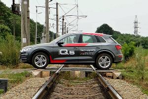 Новое поколение Audi Q5 ©Фото Евгения Мельченко, Юга.ру