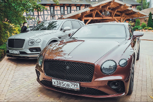 Bentley Continental GT Convertible W12 ©Фото Евгения Мельченко, Юга.ру