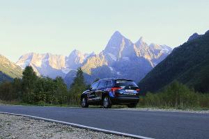«Что видел Kodiaq» в горах Северного Кавказа ©Фото Заира Гамидова, Юга.ру