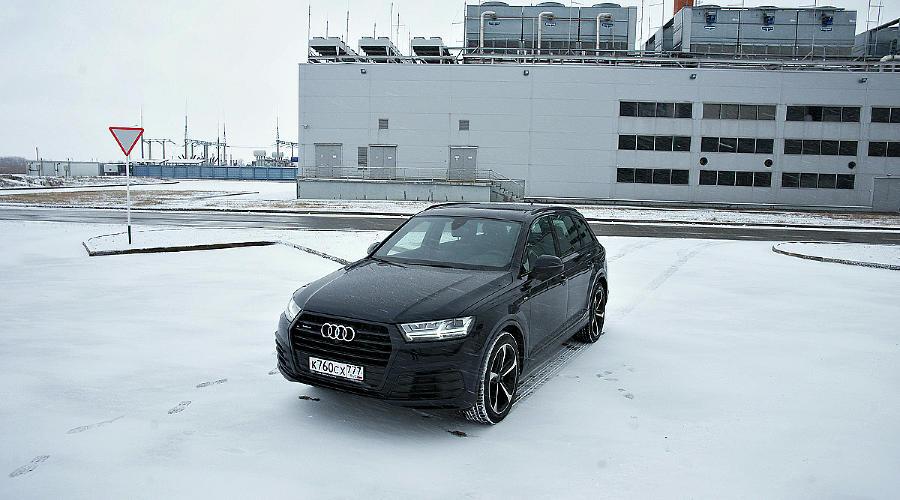 Тест-драйв Audi Q7. Ингольштадтские кольца ©Фото ЮГА.ру