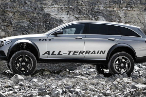 Mercedes-Benz E-Class All-Terrain 4x4 ©Фото Autoexpress