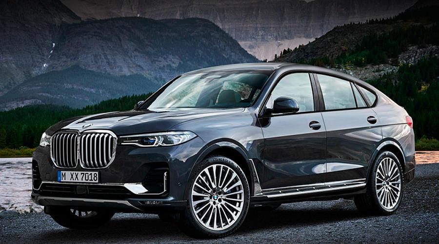 Рендерное изображение BMW X8 ©Автор рисунка X-Tomy Design