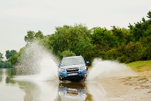 Прогулка по Краснодару с новым Subaru Forester ©Фото ЮГА.ру