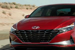 Новая Hyundai Elantra ©Скриншот видео Hyundai