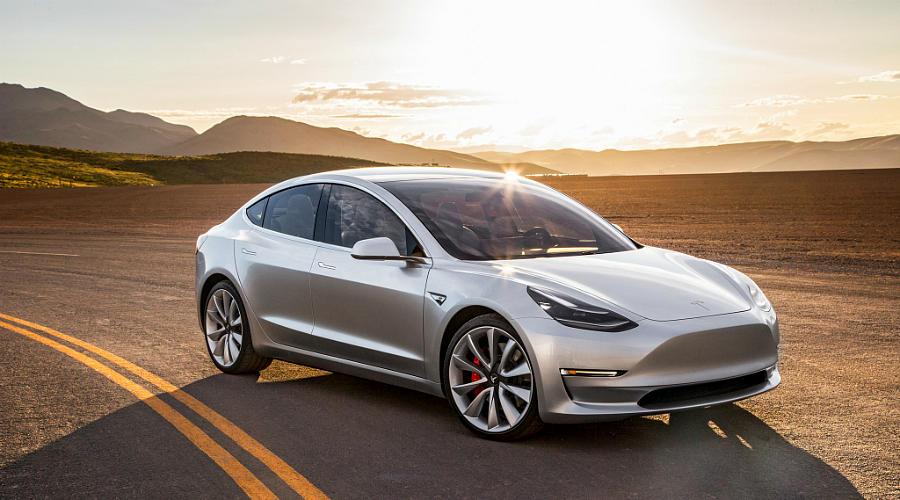 Tesla Model 3 ©Фото Tesla Motors