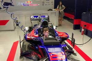 Хорошую отдачу материала и работу с инженерами отмечали многие обитатели паддока «Формулы-1» ©Фото userapi