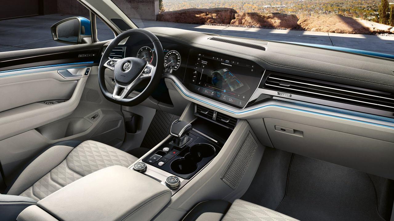 Новое поколение Volkswagen Touareg
