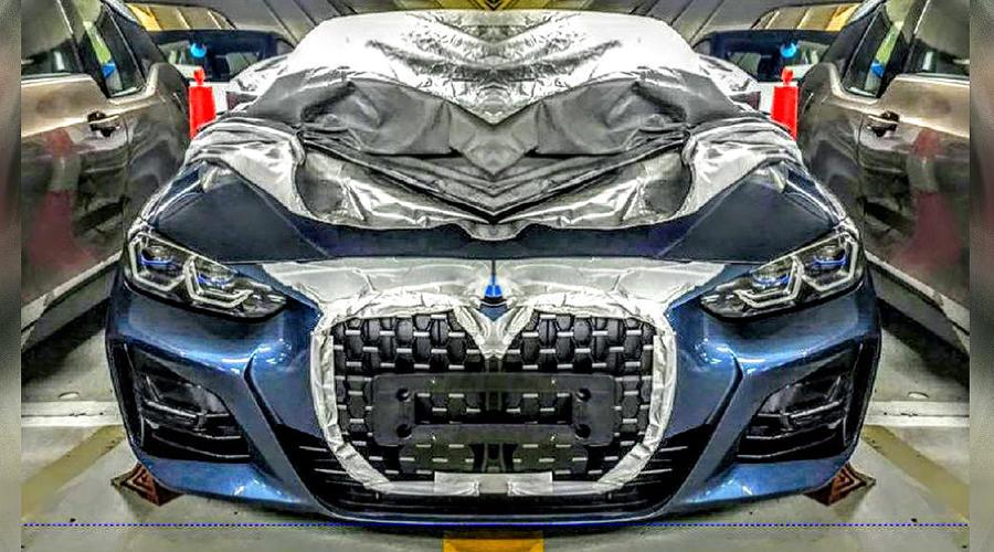 Новая решетка BMW ©Фото с сайта carscoops.com