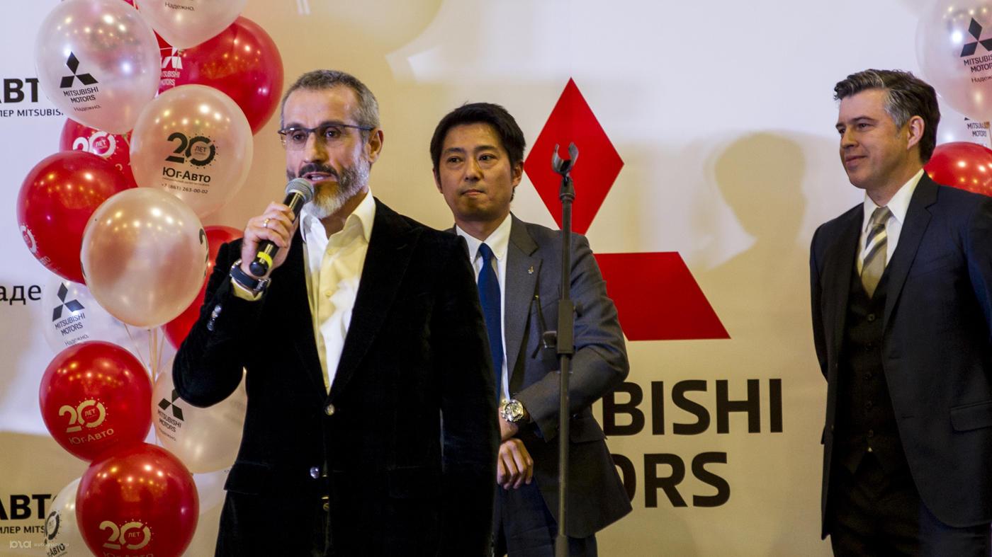Открытие нового дилерского центра Mitsubishi