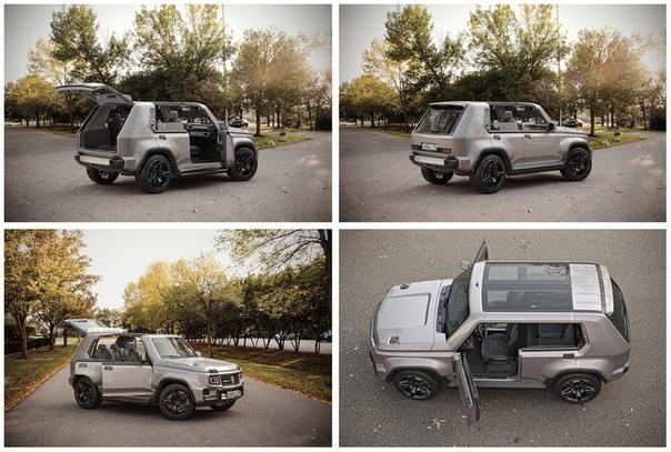 Новая Lada 4x4 (концептуальное фото)