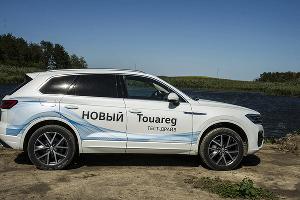 Новый Volkswagen Touareg ©Фото Евгения Мельченко, Юга.ру
