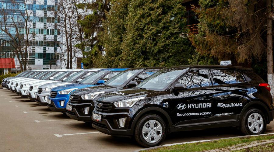 Автомобили Hyundai ©Фото пресс-службы Hyundai