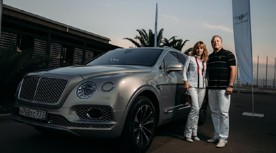"Тест-драйв Bentley Bentayga. Джентльмен на ""Сочи Автодроме"" © Фото ЮГА.ру"