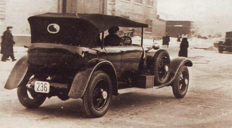 Rolls-Royce из гаража Владимира Ильича
