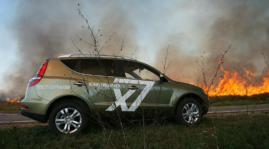 Тест-драйв Geely Emgrand X7. Первый и единственный кросс-Geely ©Фото ЮГА.ру