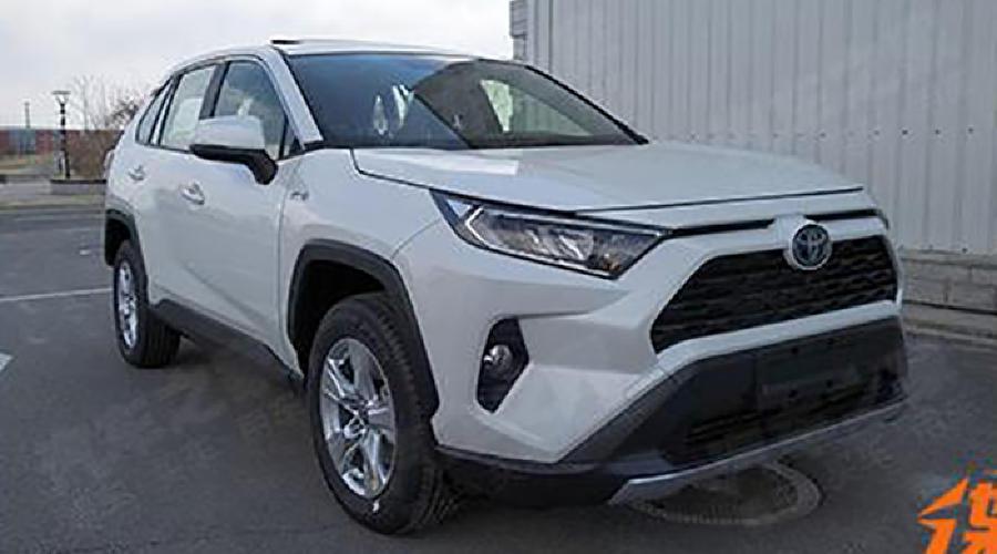 Новое поколение Toyota RAV4 ©Фото autohome.com.cn