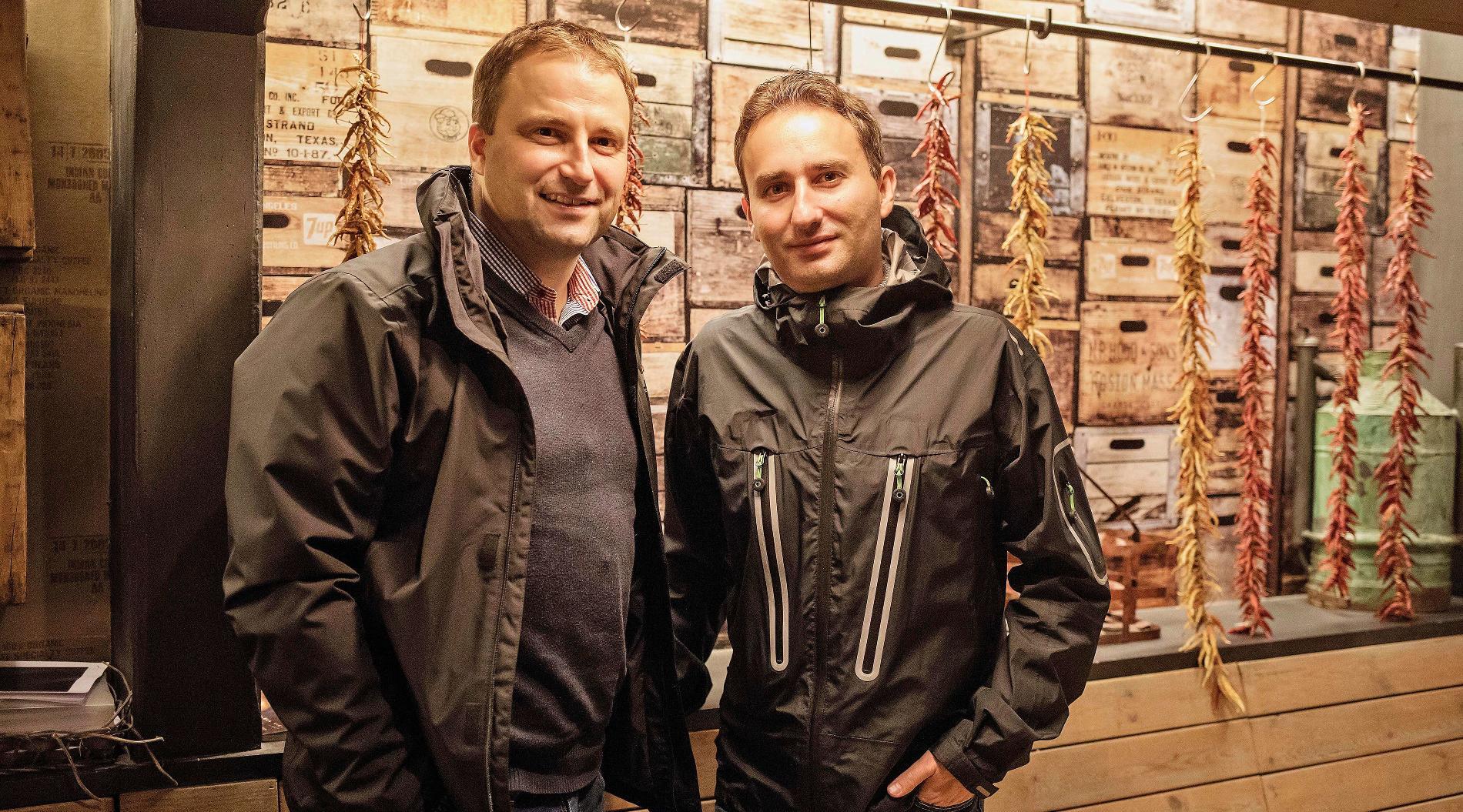 Ян Прохазка и Тимур Алиев, руководитель направления PR «Skoda Auto Россия»