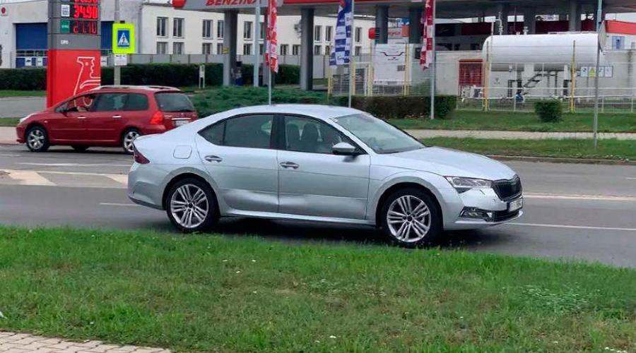 Новая Skoda Octavia ©Фото autohome.com.cn
