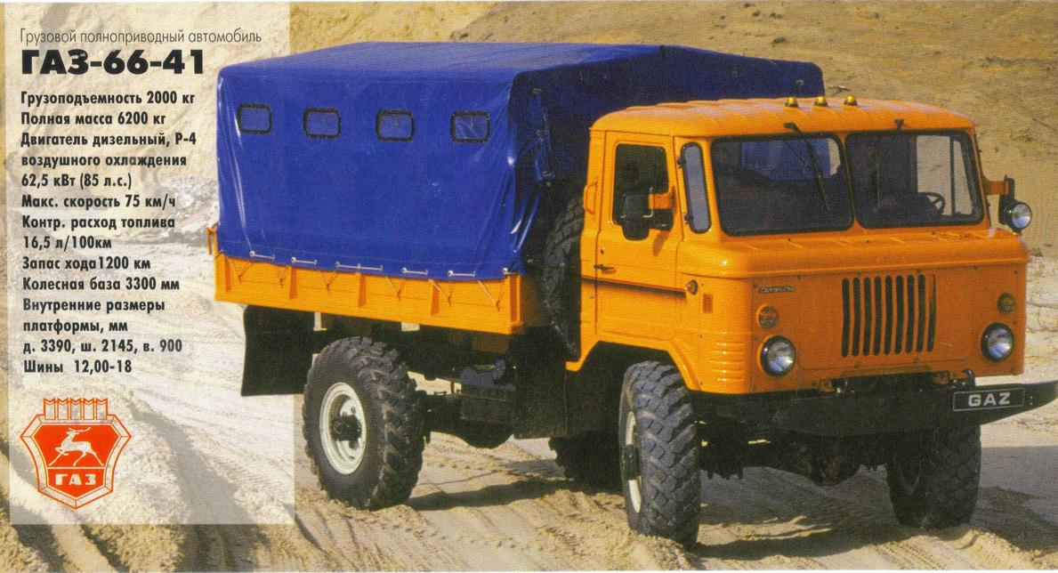 Дизельная модификация ГАЗ-66