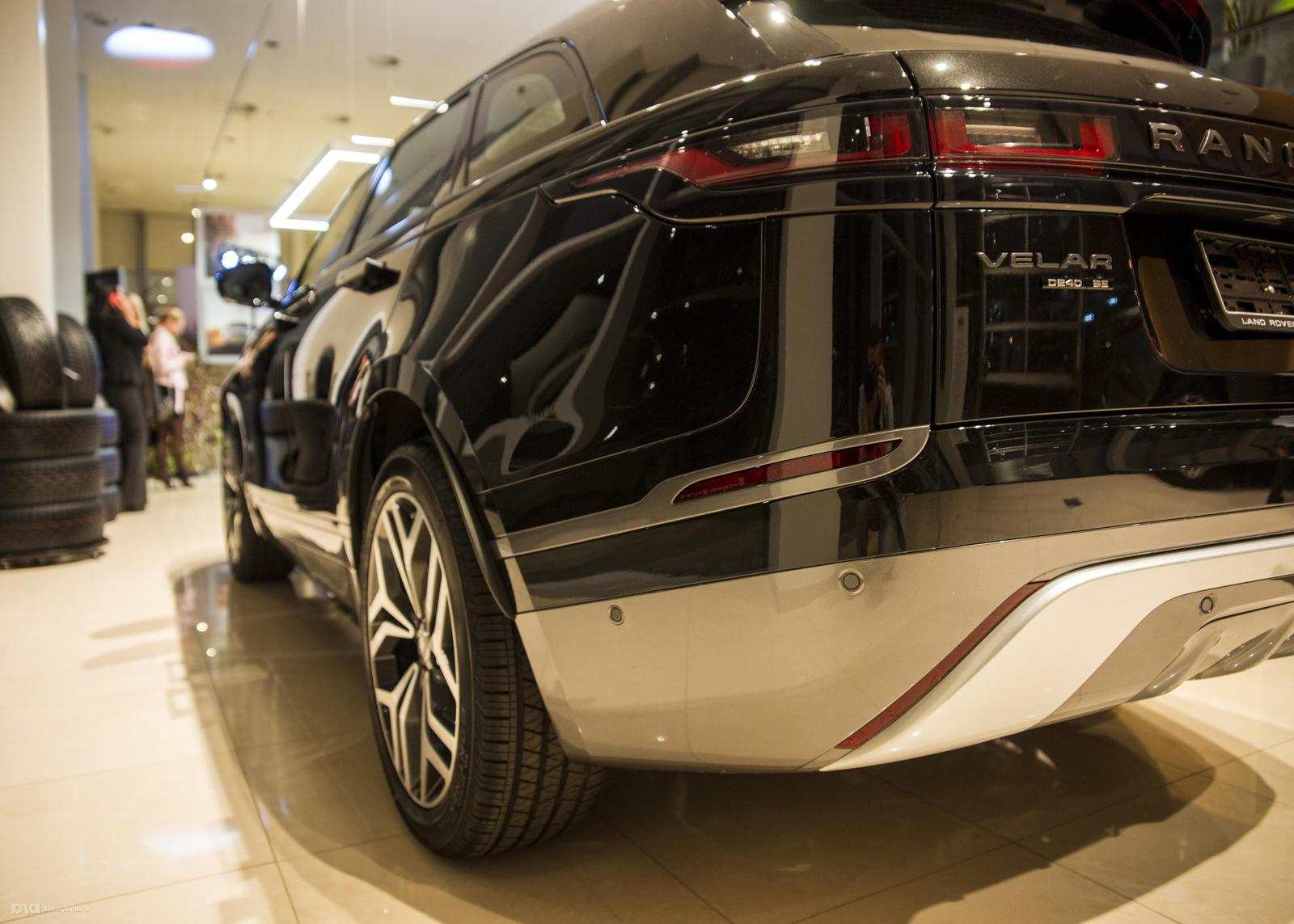 Дизайн Range Rover Velar