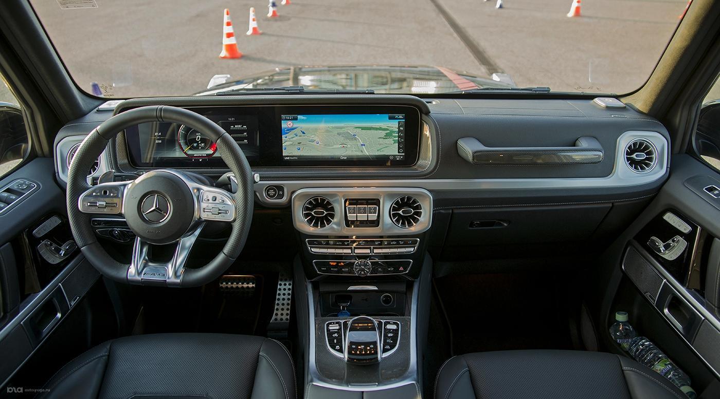 Новый Mercedes-Benz AMG G63