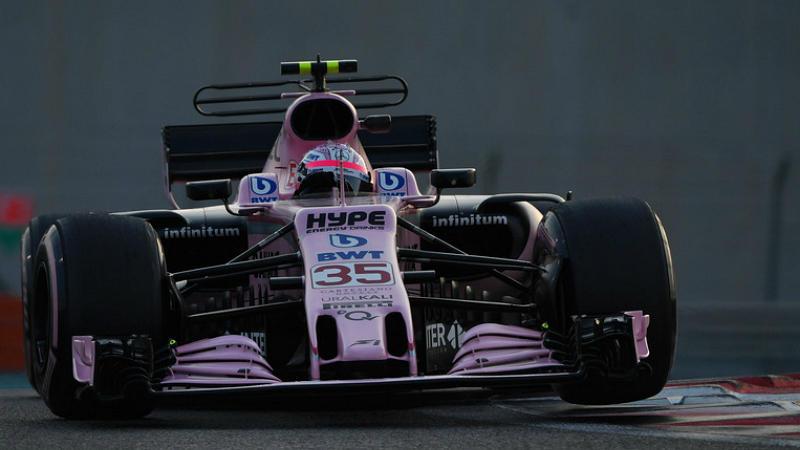 Никита Мазепин за рулем Force India
