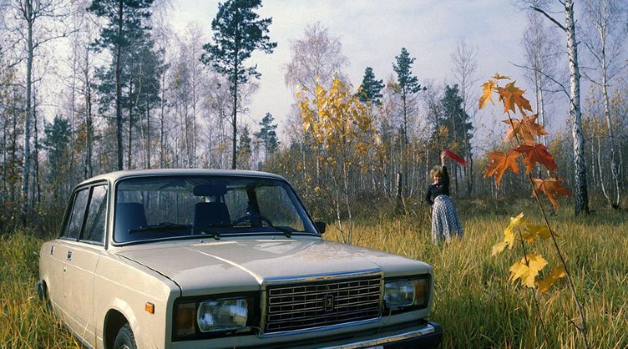 ВАЗ-2107 ©Фото АвтоВАЗ