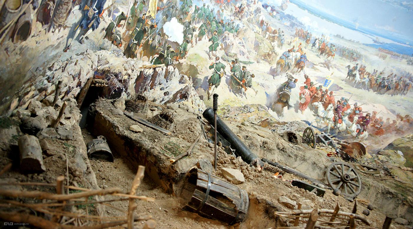 Крепость Азов и пороховой погреб