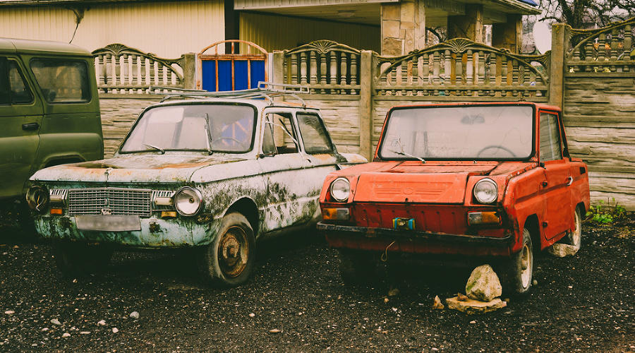 Подержанные автомобили ©Фото Евгения Мельченко, Юга.ру