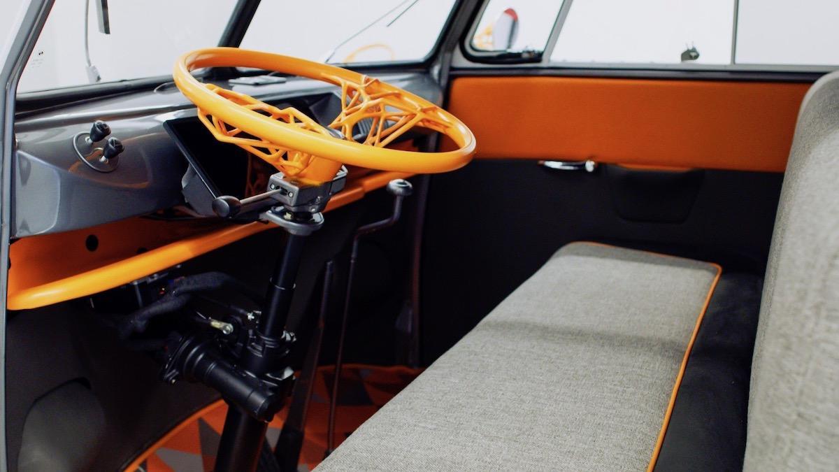 Салон Volkswagen Type 20