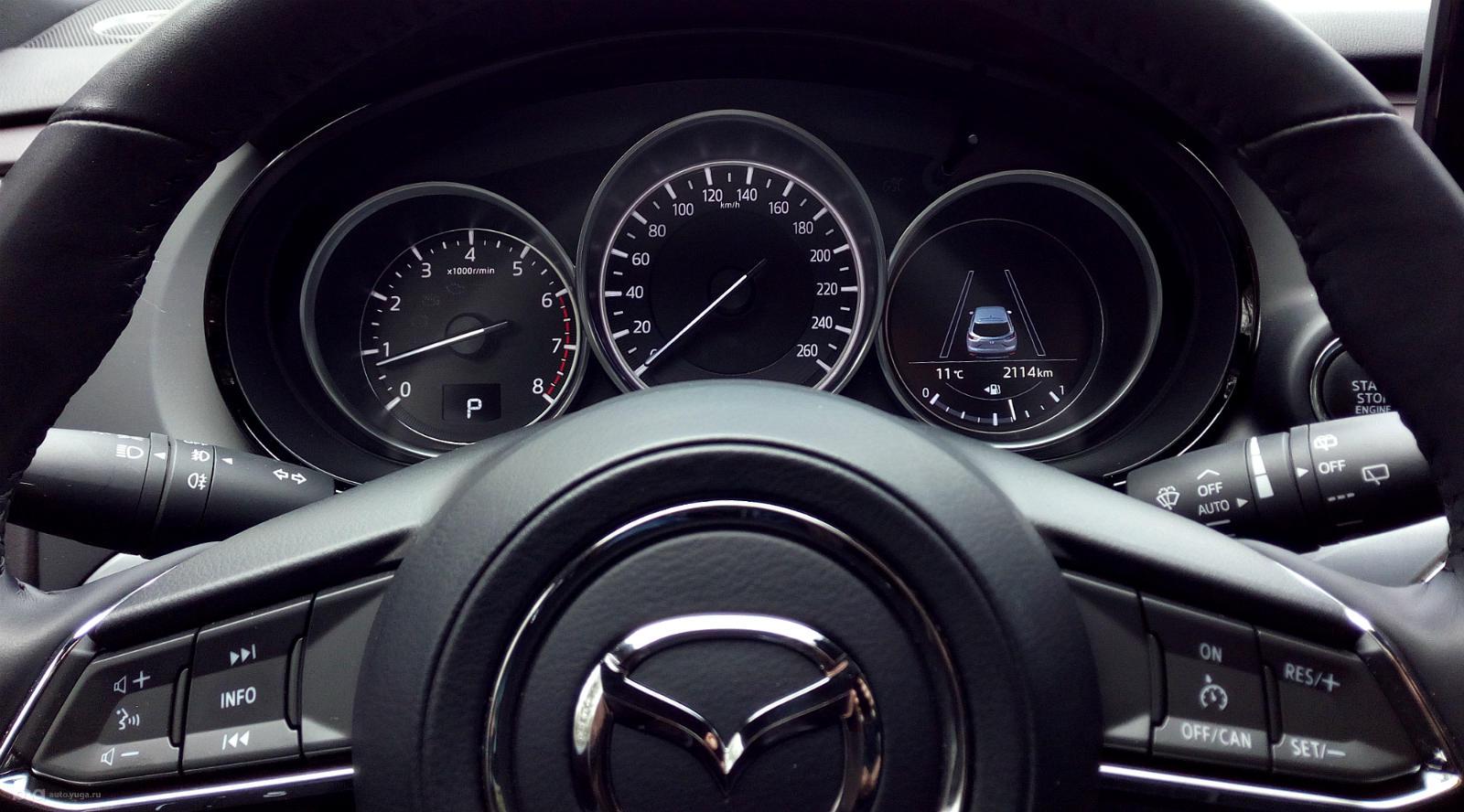 Новый кроссовер Mazda CX-9