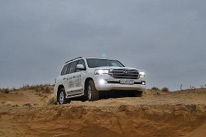 Тест-драйв нового Toyota Land Cruiser 200. В чем соль, брат ©Фото ЮГА.ру