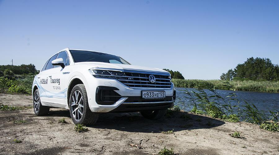 Новый VW Touareg ©Фото Евгения Мельченко, Юга.ру