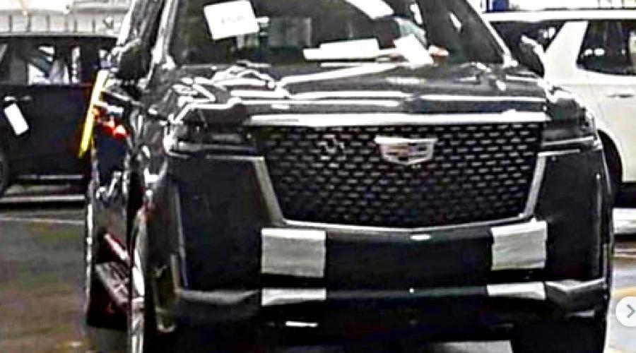 Новый Cadillac Escalade ©Фото из профиля allcarnews в instagram