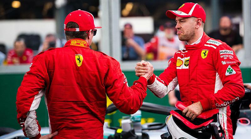 Пилоты Ferrari отработали практически идеально