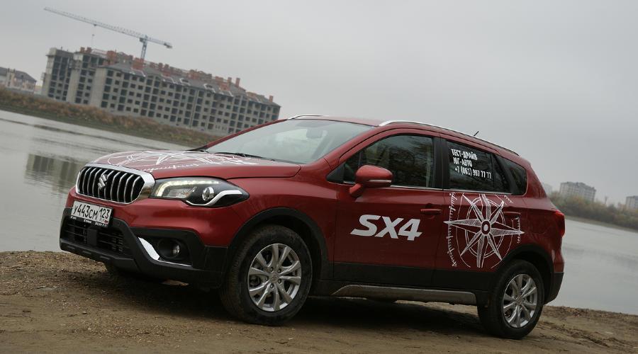 Тест-драйв Suzuki SX4. Обновленный вариант 2016 – 2017 года ©Фото ЮГА.ру