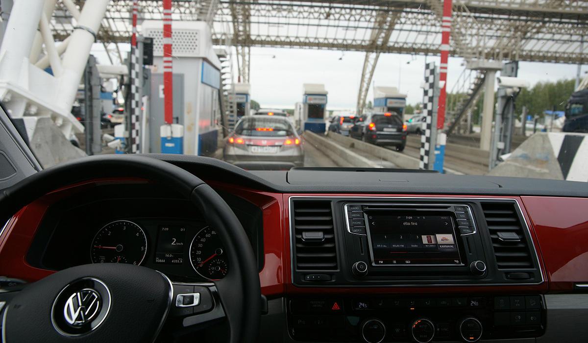 В пути на Volkswagen California