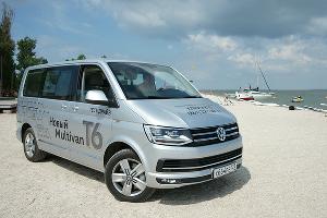 Тест-драйв Volkswagen Multivan T6. На ейских берегах ©Фото ЮГА.ру