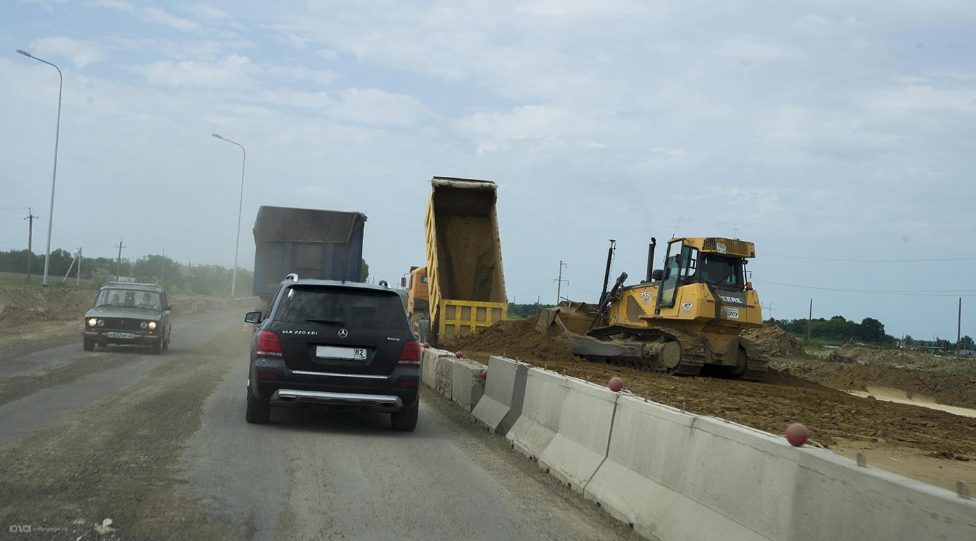 Ремонт дороги значительно увеличивает время поездки